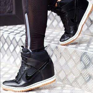 Nike Shoes - Nike Dunk Sky Hi Wedge Sneaker